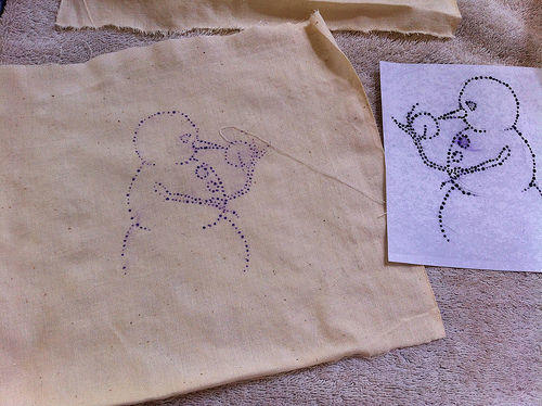 Diy embroidery pattern transfers get up and